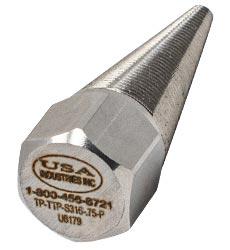 USA Industries, Inc. Threaded Metal Tapered Tube Plugs