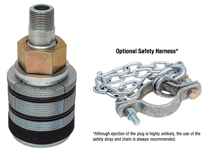 USA Industries, Inc. Grip Type High Pressure Test Plug