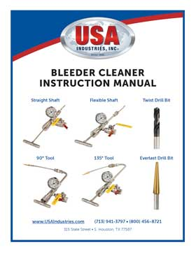 USA-Industries-Inc-Bleeder-Cleaner-Operating-Manual-thumbnail-1