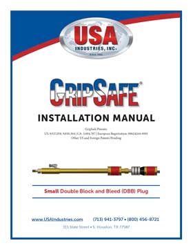 USA-Industries-Inc-GripSafe-DBB-SM-Instruction-Manual-thumbnail-1
