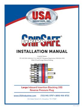 USA-Industries-Inc-GripSafe-IIB-LG-Instruction-Manual-thumbnail-1