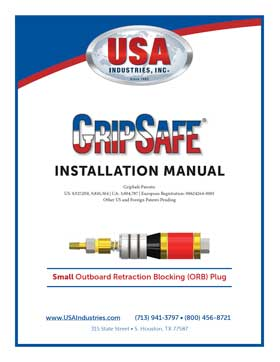 USA-Industries-Inc-GripSafe-ORB-SM-Instruction-Manual-thumbnail-1
